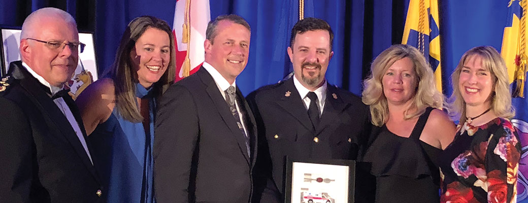 B.C. Paramedic named 2018 Legends of the Call Paramedic Award recipient.