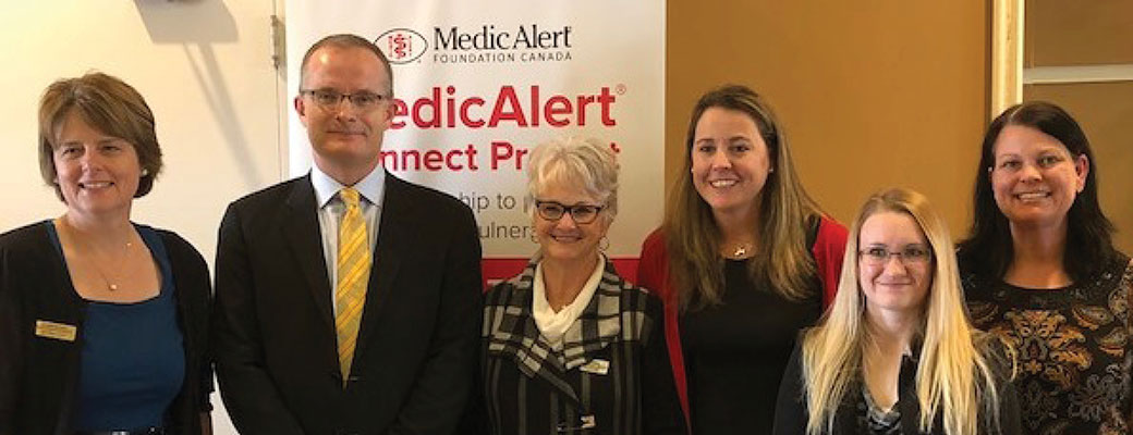 Saskatchewan becomes first in Canada to launch MedicAlert Connect Protect service province-wide