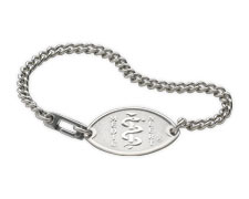 Stainless Steel Bracelet - Small Emblem