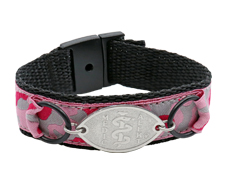 Pink Camouflage Sport Band