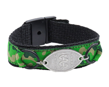 Green Camouflage Sport Band
