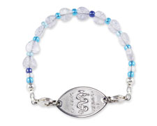 Blue Sweetheart Bracelet