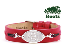 Roots Cuff in Signature Red (Stainless Steel)