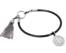 STEELX Two Tone Tassel Bracelet