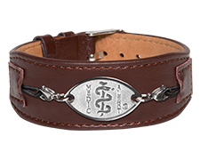 Premium Comfort Leather Band - Brown