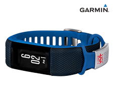 Garmin vívosmart® HR+ Activity Tracker - Blue