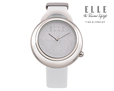 Eclipse ELLE Time Watch - White