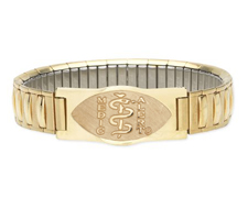 Designer Gold Expansion Bracelet