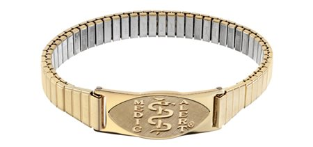 Special Gold Expansion Bracelet